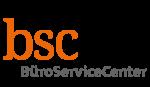 Logo von BSC-BüroServiceCenter UG (haftungsbeschränkt)
